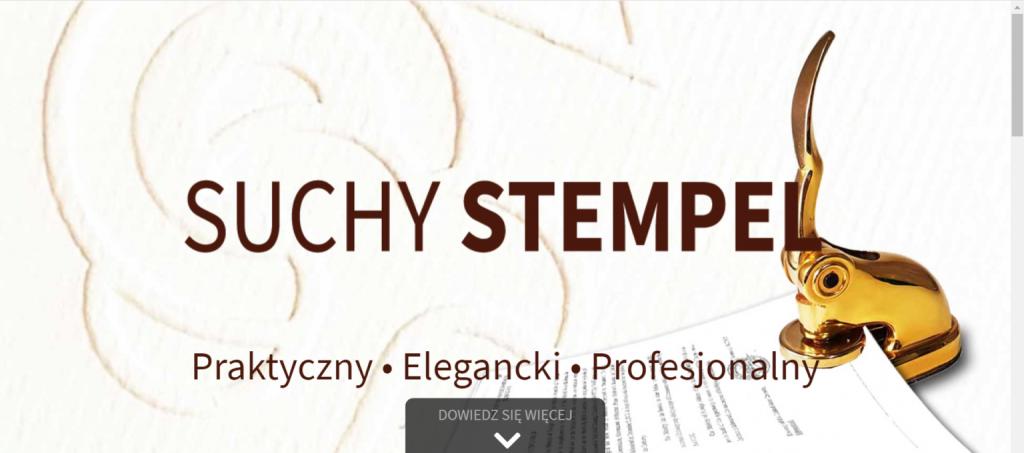 strona internetowa suchystepel.pl